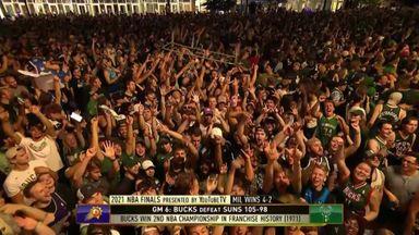 Fans go wild at Deer Park