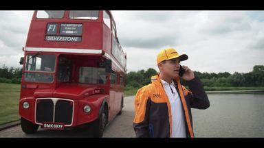 All aboard: Norris stars in Sky F1 British GP opener!