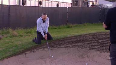 Sky Sports Golf's bunker fails!