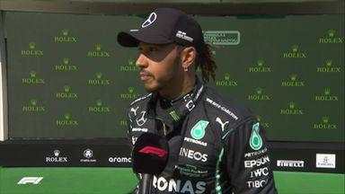 Hamilton booed after qualifying on pole