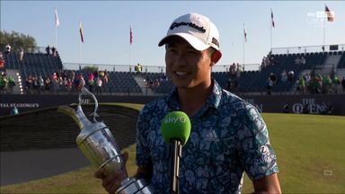 Morikawa proud of 'special' Open victory