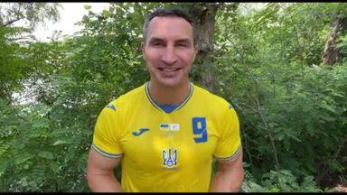 Klitschko congratulates England!