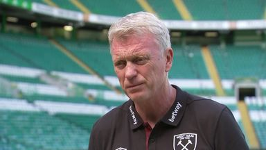 Moyes pleased after Hammers score six at Celtic