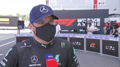 Bottas happy with strong team performance
