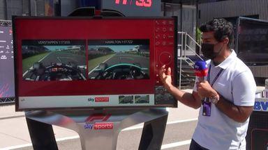 SkyPad: Verstappen vs Hamilton
