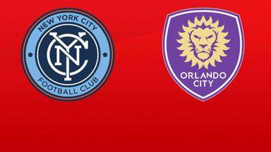 MLS: New York City FC v Orlando