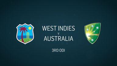 W Indies v Australia: 3rd ODI