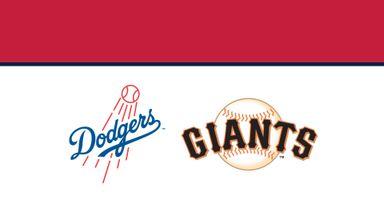 MLB: Dodgers @ Giants