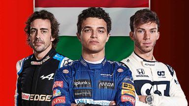 Hungarian F1 GP: Practice 2 Highli