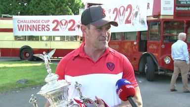 St Helens celebrate with open top bus parade