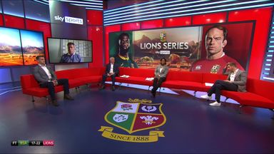 Panel debate Lions second Test selection