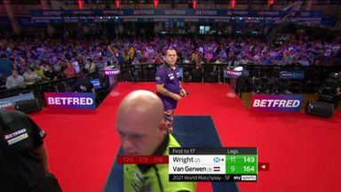 Wright's remarkable 149 checkout