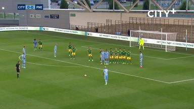 Mahrez scores stunning free-kick in pre-season