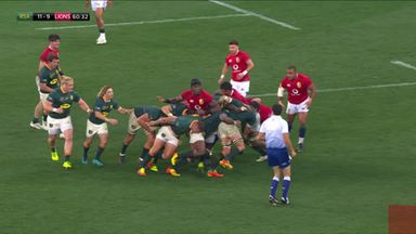 Am adds South Africa's second try