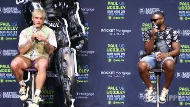 Paul: I saw fear in Woodley's eyes!