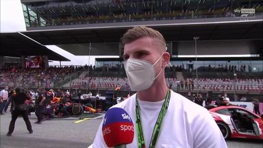 Werner at the F1: England can win the Euros!
