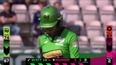 Dropped catch becomes lucky run-out!