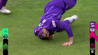 Vilas shows his skills at slip!