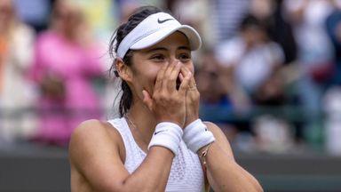Raducanu out to enjoy Wimbledon experience