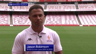 Robinson: Racist abuse was vile