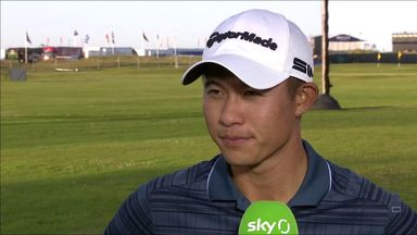 Morikawa pleased with Open recovery
