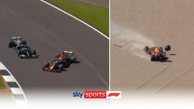 What happened at start of British GP?