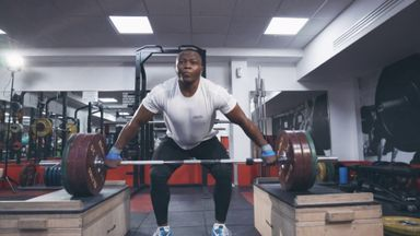 Meet the UK-based Olympic Refugee Team weightlifter