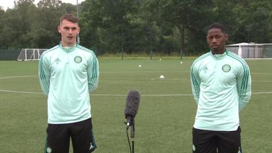 Shaw, Urhoghide excited for life at Celtic