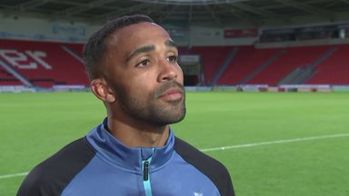 Wilson: Great to score in famous No 9 shirt