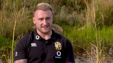 Hogg brought to tears by Lions Test selection