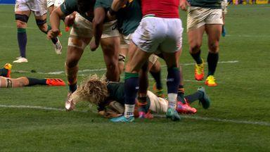 De Klerk scores for South Africa