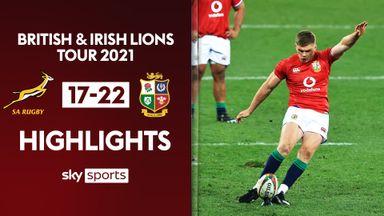 South Africa 17-22 British and Irish Lions