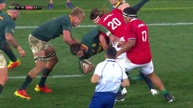 Should Watson have been sin-binned for Lions?