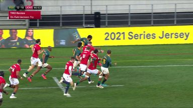 Brown: SA unlucky over disallowed Le Roux try