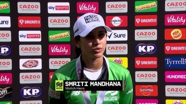 Mandhana: Just took my time to build
