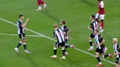 Highlights: Rotherham 1-1 Newcastle