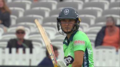 Teenager Capsey lighting up The Hundred
