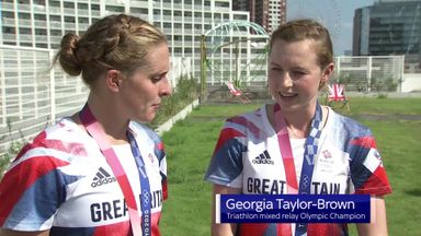 Taylor-Brown: Mixed relay a fun event