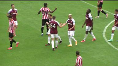 Benrahma scores stunner against Brentford!