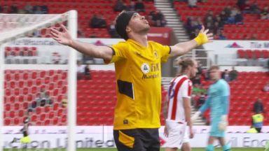 Jimenez scores first goal since head injury
