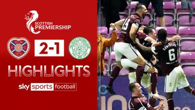 Hearts 2-1 Celtic