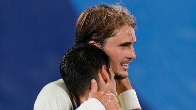 Zverev beats Djokovic to reach Olympic final