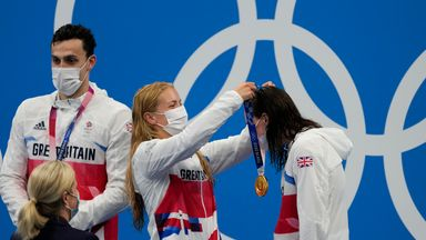 Hopkin, Dawson reflect on Olympic gold