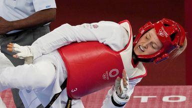 Williams takes Olympic taekwondo silver