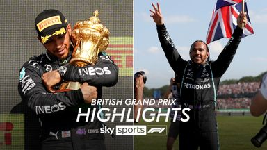 British GP: Race highlights