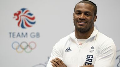 Clarke: From lorry driver to Olympian!