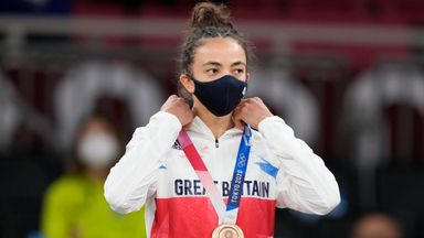 Giles medal 'fantastic for British judo'