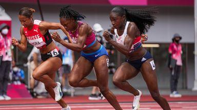 Asher-Smith into 100m semi-finals