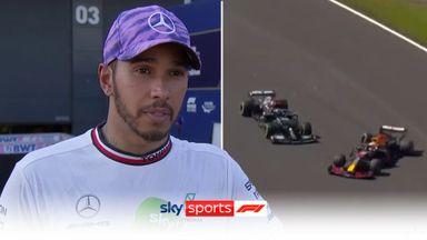 Hamilton: Max was too aggressive