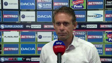 Hodgson: We were way off